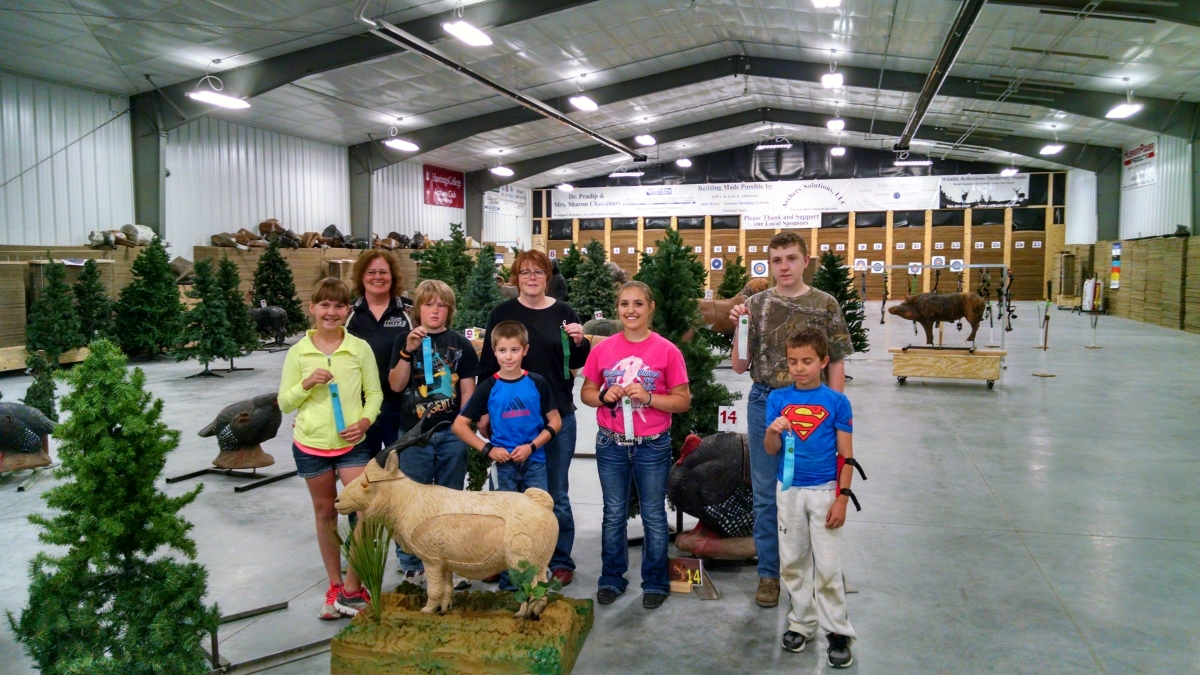 4-H Archery Ribbon Winners