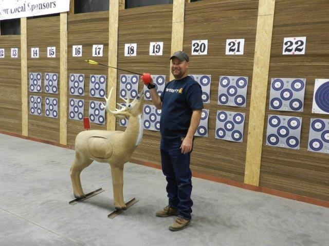 Brett Mohling 1.29.2015 at 50 yards