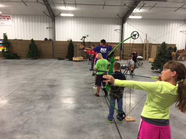 Youth Shooting Line